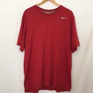 5 for $15 Red Nike Dri Fit Tee XL